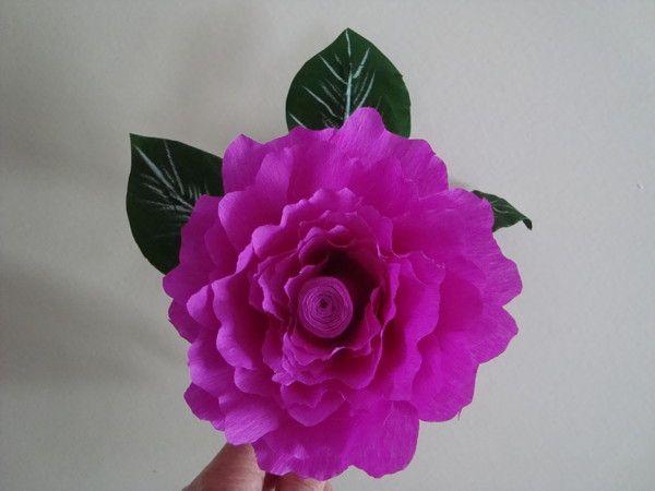 Demo fleur en papier crepon page 3 - Activite avec papier crepon ...