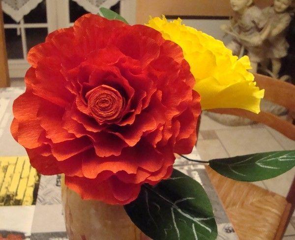 Fleurs crepon - Fleur en crepon ...