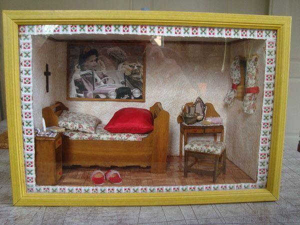 mes creations vitrine miniature. Black Bedroom Furniture Sets. Home Design Ideas