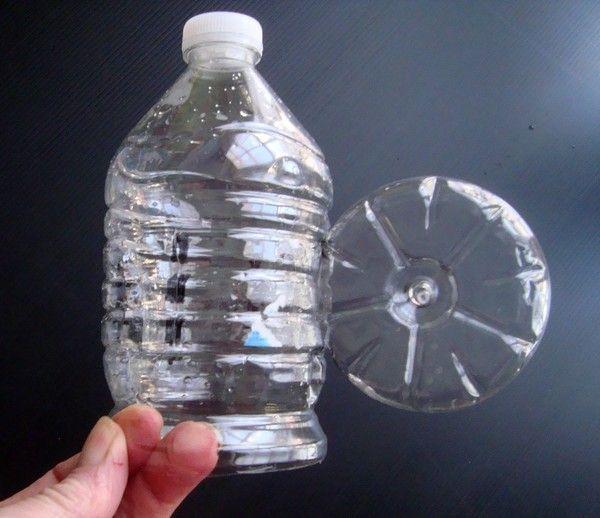 girouette bouteille plastique