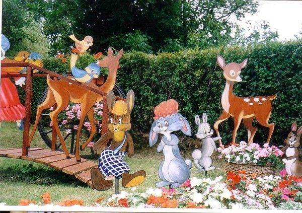 Mes creations deco jardin pinocchio for Creation deco jardin