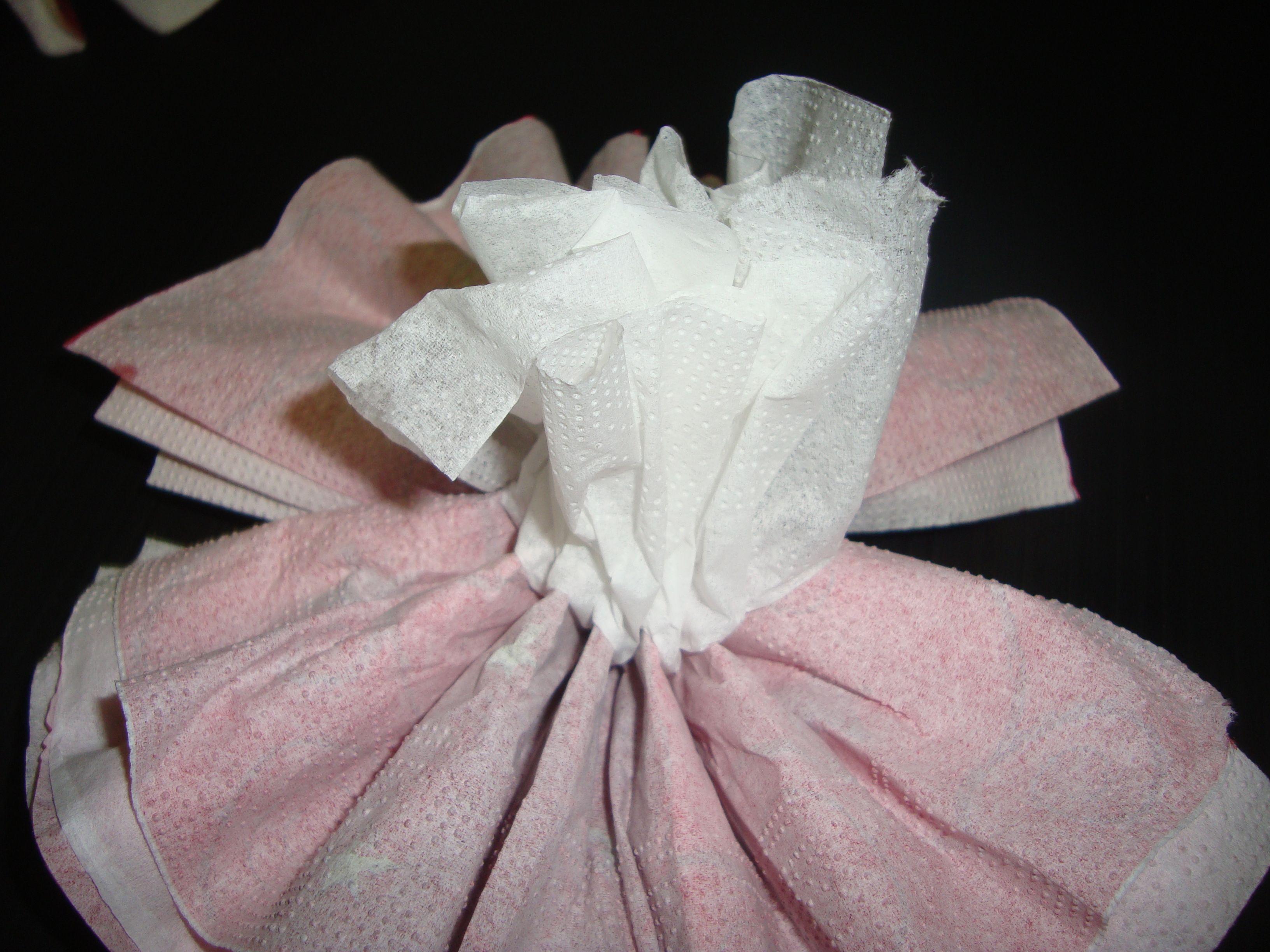 Demo fleur serviette en papier - Couper papier peint sans dechirer ...